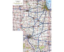 Illinois State Parks Map by Maps Of Illinois State Collection Of Detailed Maps Of Illinois