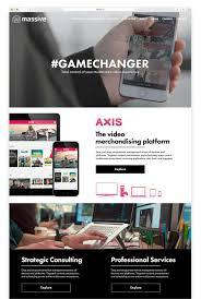 Home Design Interactive Website Massive Co U2014 Louise Handyside