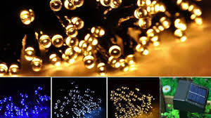 Outdoor Up Lighting For Trees Solar Powered Outdoor String Lights From Inst Front Yard