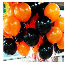 foil helium 10inch balloon halloween balloons for party