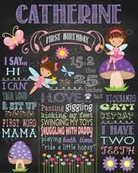 birthday signing board chalkboard poster sign all about me 1st birthday for baby girl