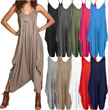 harem jumpsuit baggy harem jumpsuit romper sleeveles all in one v neck