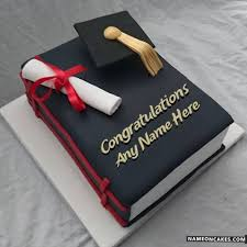 graduation cakes name on graduation cakes with best wishes
