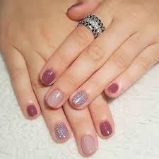 21 elegant nail designs for short nails short nails purple and