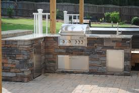 cabinet outdoor barbecue kitchen designs best outdoor bar and