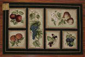 fruit kitchen rug sets