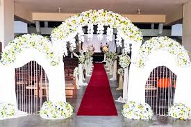 wedding church decorations church weddings from leriza flowers sri lanka s best flower