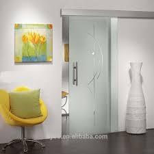 tempered glass interior frameless sliding doors online buy