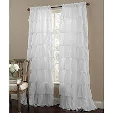 Lorraine Curtains Lorraine Home Fashions Ruffled Window Curtain