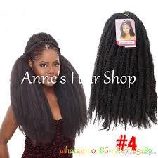 crochet black weave hair crochet marley braids hair extensions afro kinky ombre jumbo