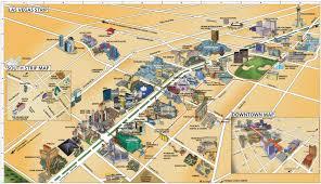 Las Vegas Tram Map Large Map Of Las Vegas Las Vegas Maps Top Tourist Attractions