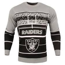 raiders christmas sweater with lights oakland raiders
