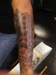 by steve halfsleeve clouds tattooyou yelp