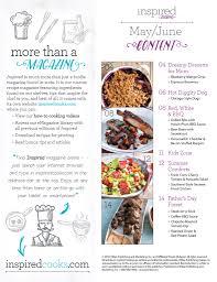 16 may inspiredcooks emagazine