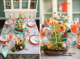 Easter Restaurant Decorations by Easter Brunch Inspiration The Decor