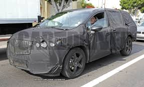 new mazda mpv 2016 2017 honda odyssey spy photos u2013 news u2013 car and driver