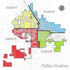 sector map porterville police department
