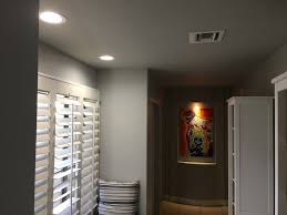 hallway installed 2x 6 inch led recessed lights install 2 3 inch