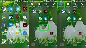 how to create app folders in android ubergizmo - How To Make Folders On Android