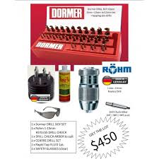 Dormer Tap And Die Set Drill Boy Kit