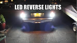 2000 ford explorer fog lights how to install led reverse lights 2000 explorer youtube