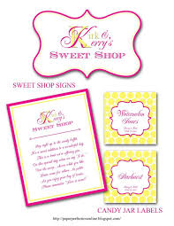 Candy Labels For Candy Buffet by 12 Best Silver Gray And Yellow Candy Buffet Images On Pinterest