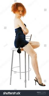 High Sitting Chair Decided Sitting On High Chair Stock Photo 171310823