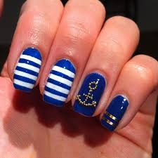 22 best nails images on pinterest navy nails anchor nails and