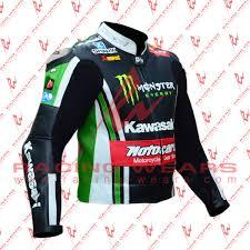 motorcycle racing leathers racing wears tom sykes kawasaki motorbike racing leather jacket