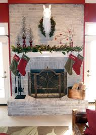 Christmas Decoration For A Fireplace by Christmas Mantel Our Fifth House