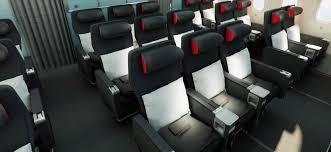 Economy Comfort Class Air Canada 787 Dreamliner