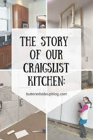 used kitchen cabinets for sale craigslist near me the new house part 4 the story of our craigslist kitchen