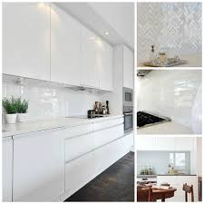 tag for white gloss kitchen splashback ideas kitchen design with
