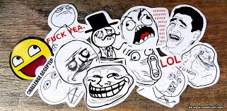 Meme Face Wallpaper - rage face comic sticker shop troll aufkleber meme smileys