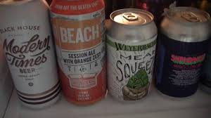beer review 2706 carton brewing beach session ale with orange