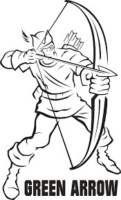 great green arrow coloring pages 50 for download coloring pages