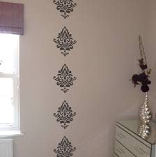 damask wall stickers by nutmeg notonthehighstreet com