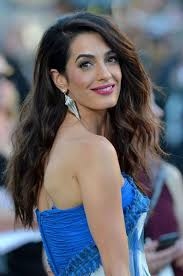 is amal clooney hair one length alamuddin amal clooney style