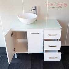 Large Bathroom Vanity Units by Bathroom Cabinets Freestanding Bathroom Vanity Unit White Glass