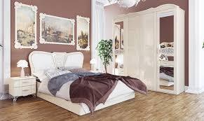 Schlafzimmer Komplett 0 Finanzierung Schlafzimmer Komplett Mit Kleiderschrank Creme Hochglanz Neu