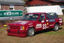 jeep rally car bangshift com 1988 jeep comanche scca