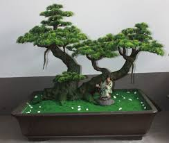 artificial bonsai trees for home decor