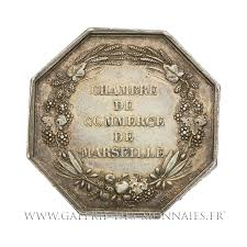 chambre de commerce de marseille louis philippe ier 1830 1848 jeton octogonal chambre de commerce