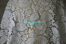 quality water soluble lace fabric bridal lace fabric wedding dress