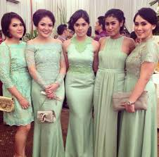 wedding dress brokat bridesmaid dress indonesia dress alterations