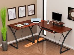 Glass L Shaped Desk Z Line Khloe L Computer Desk Zl21020 01ldu