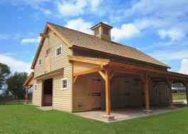 sasila post and beam horse barn plans