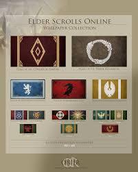 Breton Flag Fan Art Elder Scrolls Online Wiki
