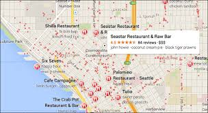 seattle map restaurants new maps now open to all no invite needed
