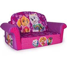 Hello Kitty Toddler Sofa Paw Patrol Convertible Sofa Couch Chair Pink Girls Kid Toddler